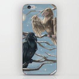 Winter Ravens iPhone Skin