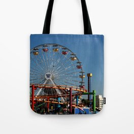 Santa Monica Pier Tote Bag