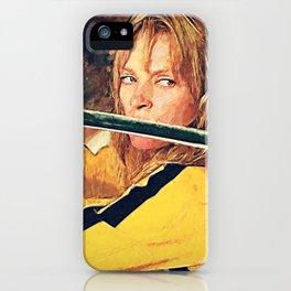Beatrix Kiddo iPhone Case