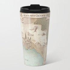 Map of Hogwarts Travel Mug