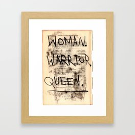 Queen Elizabeth I Framed Art Print