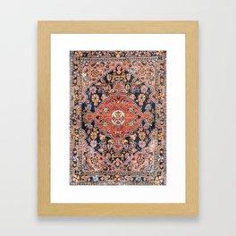 Djosan Poshti West Persian Rug Print Framed Art Print