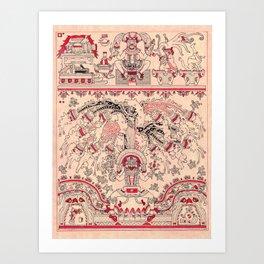 Tonacacuahco - The Tree of Our Sustenance Art Print