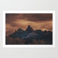 middle earth Art Prints featuring Middle Earth by Randy Edwards Photos