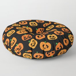 Jack-o'-Lanterns Floor Pillow