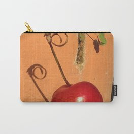 Cherry Spiral Carry-All Pouch