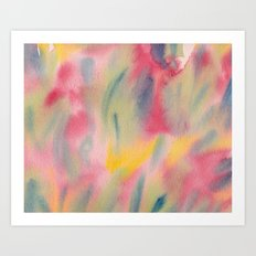 Vibrant summer colour Art Print