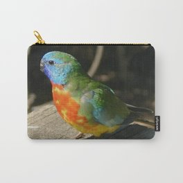 Red Scarlet Chested Parrot Carry-All Pouch