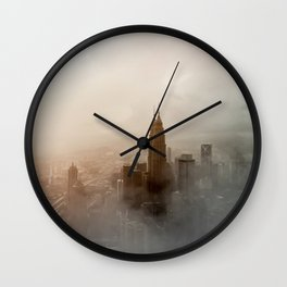 Petronas Twin Towers Wall Clock