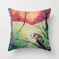 Soren: Owl of Ga' Hoole Throw Pillow