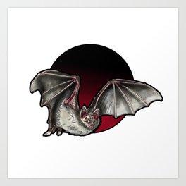 Vampire Bat Art Print