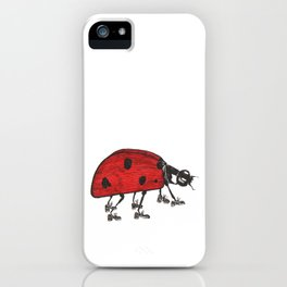 Ladybug Wearing Tap Shoes Gotta Dance iPhone Case