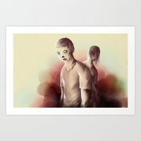 zombies Art Prints featuring Zombies by Jacques Marcotte