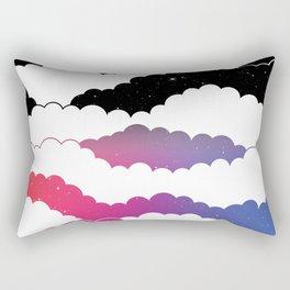Midnight Glow Rectangular Pillow
