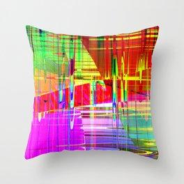steel 2 Throw Pillow