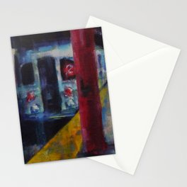 Underneath NYC: Hoyt Street on the 2/3 Line Stationery Cards