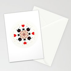 Cat Mandala 1 Stationery Cards