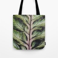 fern Tote Bags featuring fern by Bonnie Jakobsen-Martin