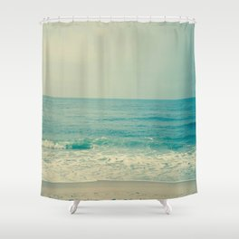 Blue H20 Shower Curtain