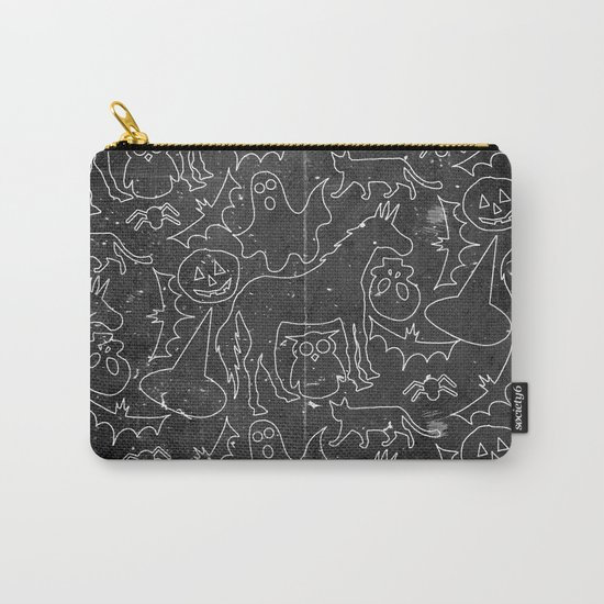 Halloween Spook Unicorn V02 Carry-All Pouch