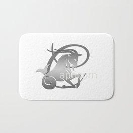 Capricorn the Goat - Zodiac Sign Bath Mat