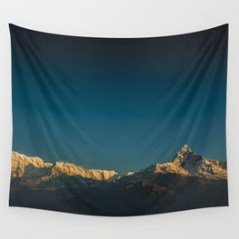 Himalayan sunrise Wall Tapestry