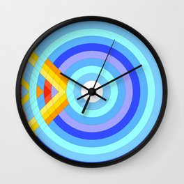 Collision Wall Clock