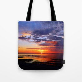 Between Sky and Earth Tote Bag
