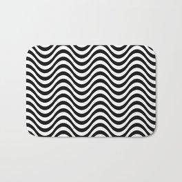 Black and White Pattern VI Bath Mat