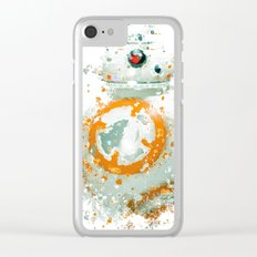 BB8 Star . Wars Clear iPhone Case