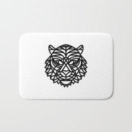 Tiger Head (Geometric) Bath Mat