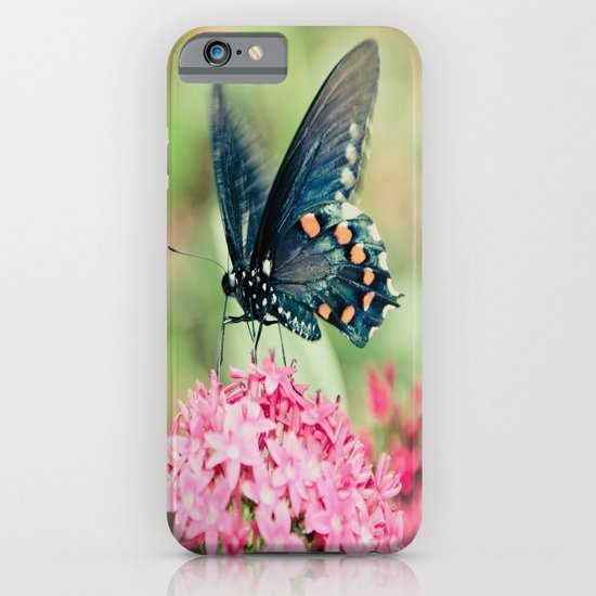 Spring Butterfly iPhone & iPod Case