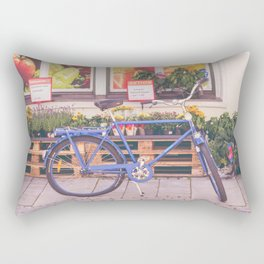 Market Bicycle Rectangular Pillow