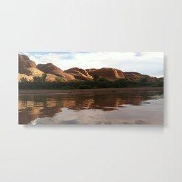 Moab Reflection Metal Print