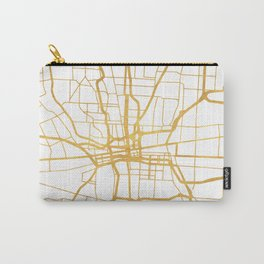 COLUMBUS OHIO CITY STREET MAP ART Carry-All Pouch