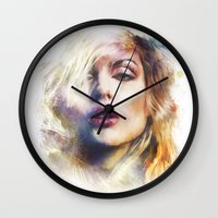 blondie Wall Clocks featuring Blondie by turksworks