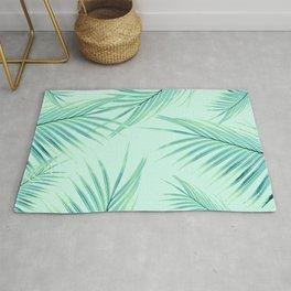 Summer Palm Leaves Dream #1 #tropical #decor #art #society6 Rug