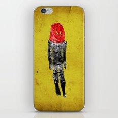 alien lipstick iPhone & iPod Skin