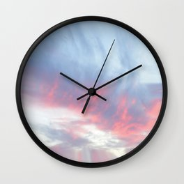 Silent Witness at Sunrise Wall Clock