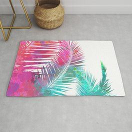 Palms Explosion Rug