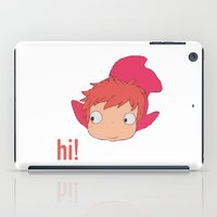 ponyo iPad Cases featuring Ponyo by Etiquette