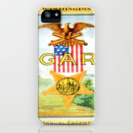 G.A.R iPhone Case