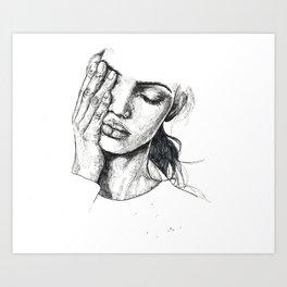 s k e t c h Art Print