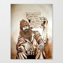 Hard Times Canvas Print