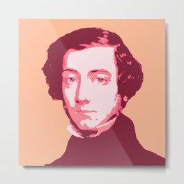 Alexis de Tocqueville Metal Print