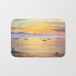 Impressions Of Provincetown Cape Cod USA Bath Mat