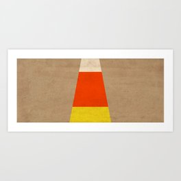 Halloween Candy Corn Art Print
