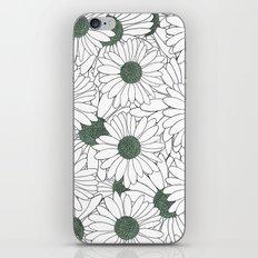 Daisy Mint iPhone & iPod Skin