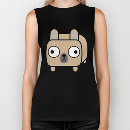 French Bulldog Loaf - Fawn Frenchie Biker Tank