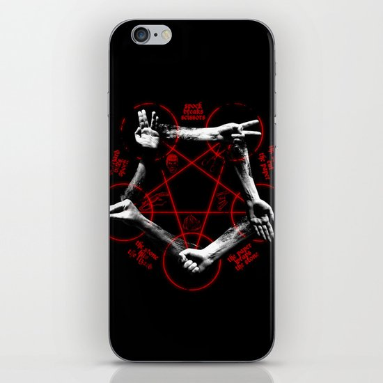 The game of the Beast iPhone & iPod Skin